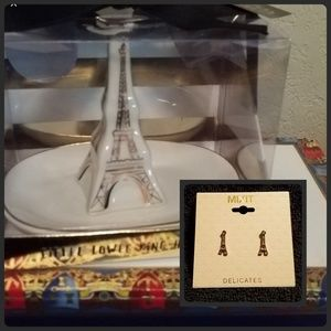 Jewelry - Eiftial tower🗼Ring & Trinket tray with Earrings